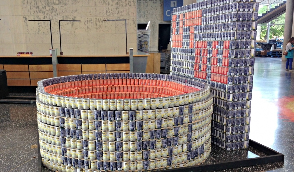 """Featured image for """"CANstruction: 2014 State Fair of Texas"""""""