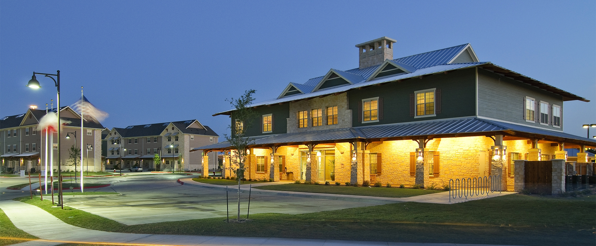 Campus Village At College Station O Brien Architects
