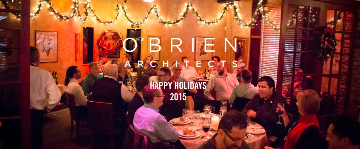 """Featured image for """"2015 O'Brien Architects Holiday Party"""""""