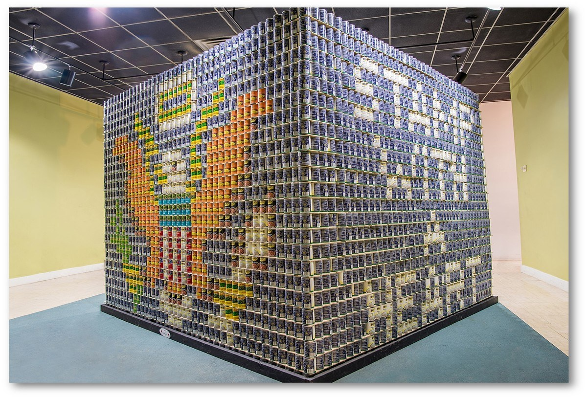 """Featured image for """"O'Brien Wins """"Best Use of Labels"""" at Canstruction"""""""