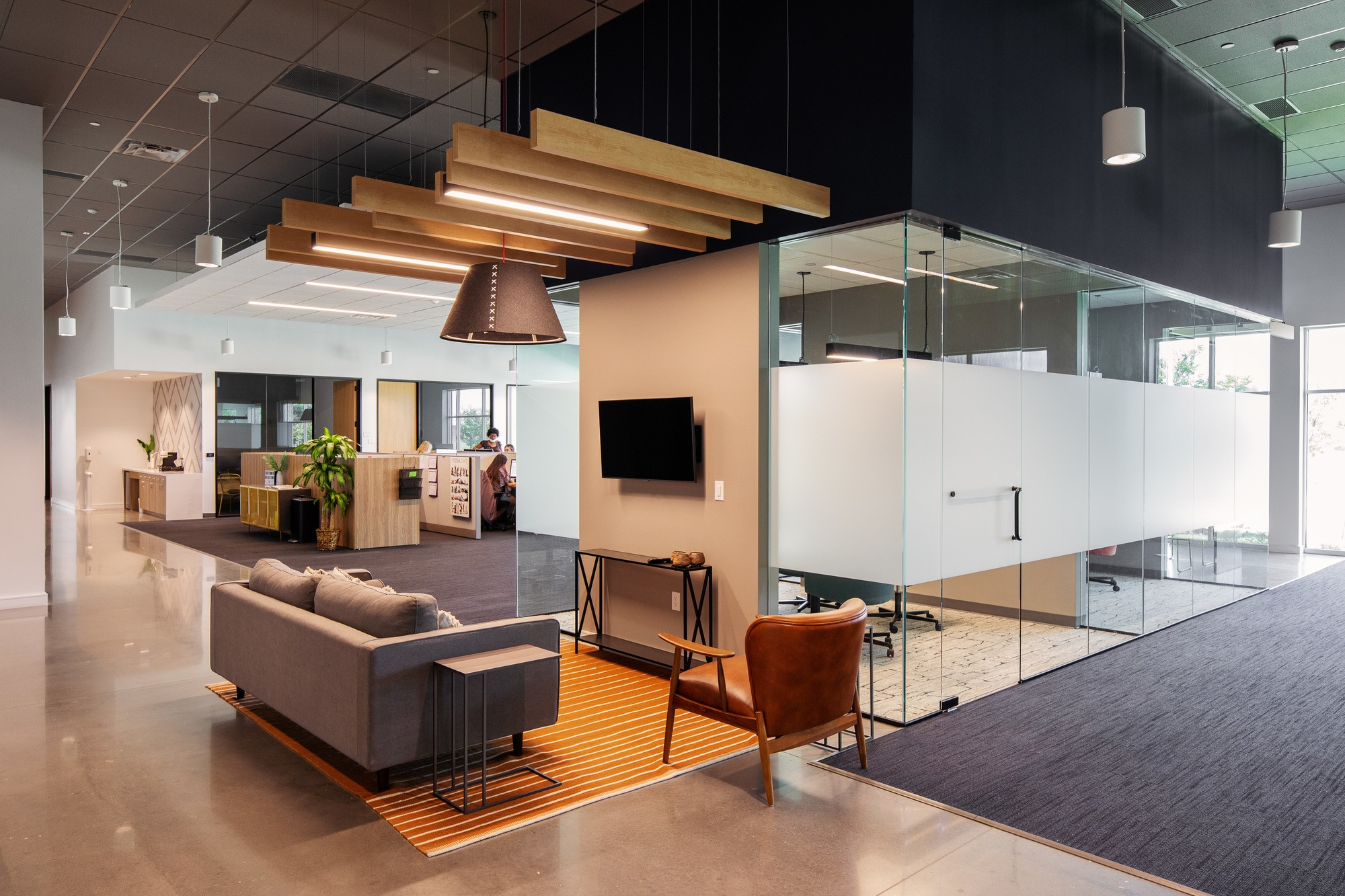 KVP Office Interior Project by O'Brien Architects