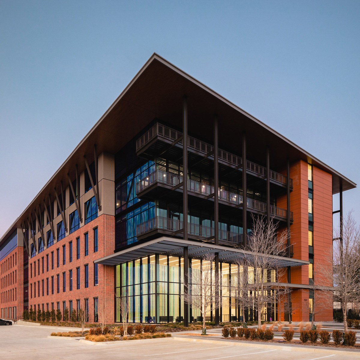 corporate office building architecture example
