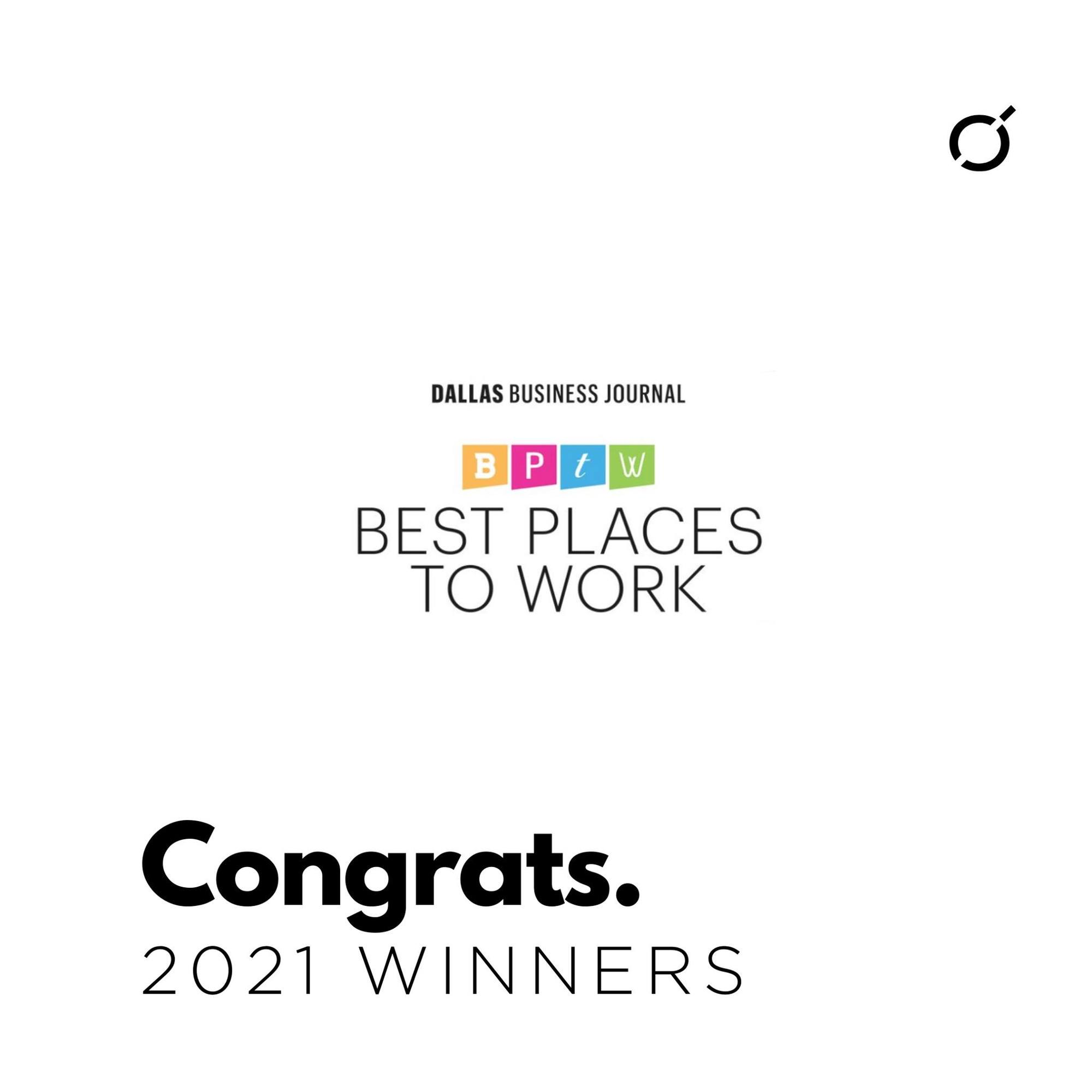 """Featured image for """"2021 DBJ Best Places to Work"""""""
